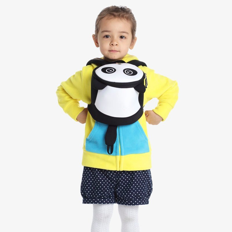 Nohoo Children Products-Find Nh043 Oem High Quality Carton Neoprene Anti Lost Panda Backpack-3