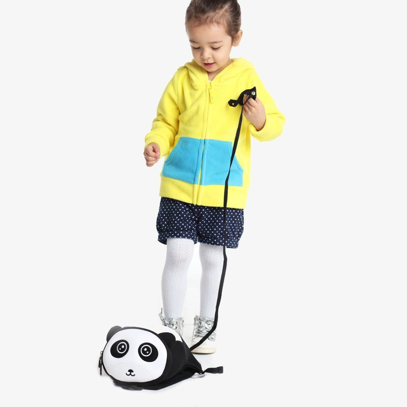 Nohoo Children Products-Find Nh043 Oem High Quality Carton Neoprene Anti Lost Panda Backpack-4