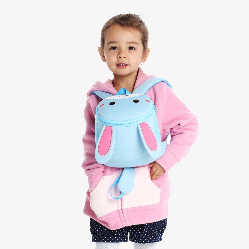 Nohoo Children Products-Nh042 Rabbit Design Kindergarten Lightweight Anti Lost Baby Backpack-3