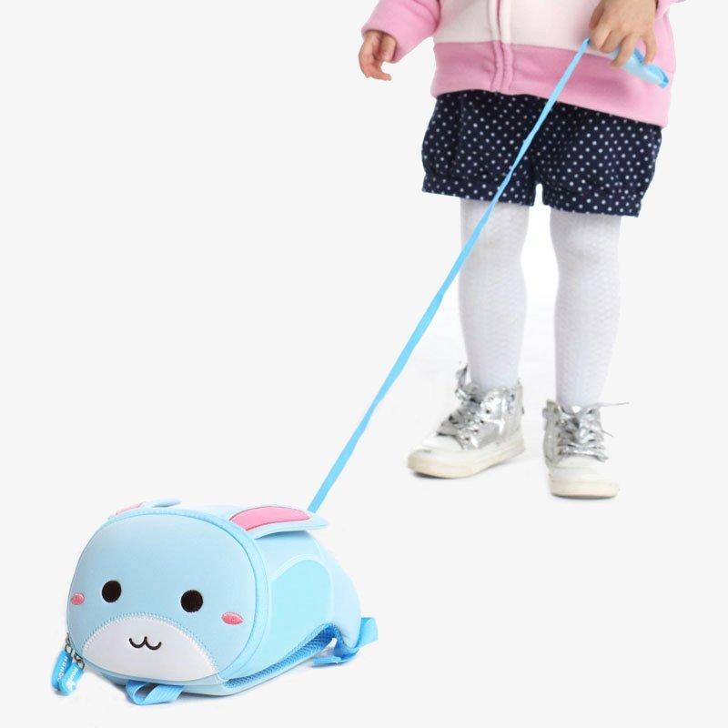 Nohoo Children Products-Nh042 Rabbit Design Kindergarten Lightweight Anti Lost Baby Backpack-4