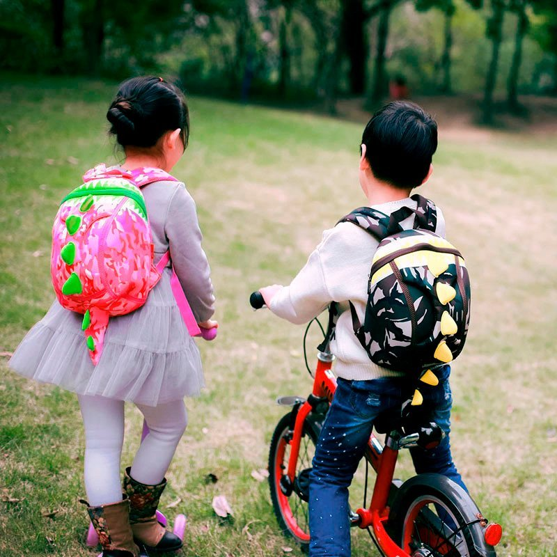 Nohoo Children Products-Nh023s Neoprene Backpack Comfortable Lightweight Dinosaur Kids Rucksacks-3