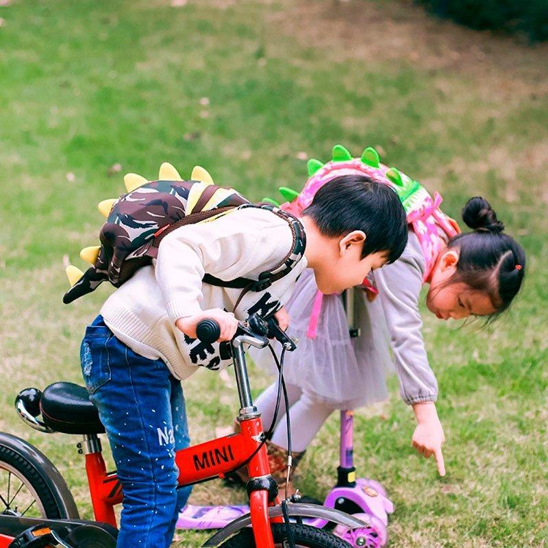 Nohoo Children Products-Nh023s Neoprene Backpack Comfortable Lightweight Dinosaur Kids Rucksacks-4