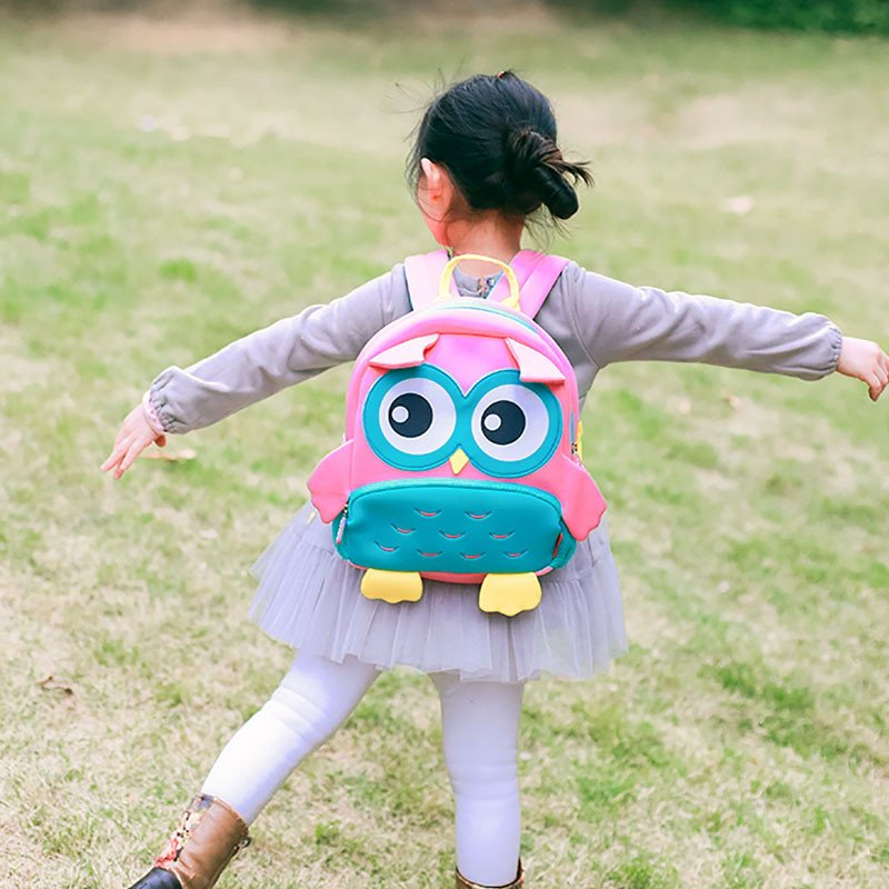 Nohoo Children Products-Find Gy298 High Quality Lightweight Kids Backpack School Bags Owl Kids-3