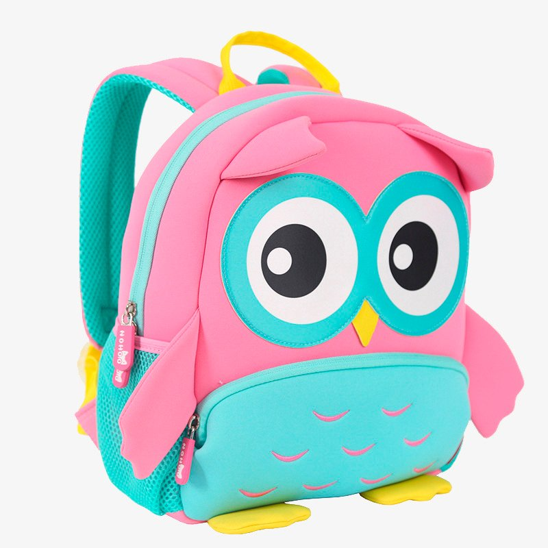 Nohoo Children Products-Find Gy298 High Quality Lightweight Kids Backpack School Bags Owl Kids-4