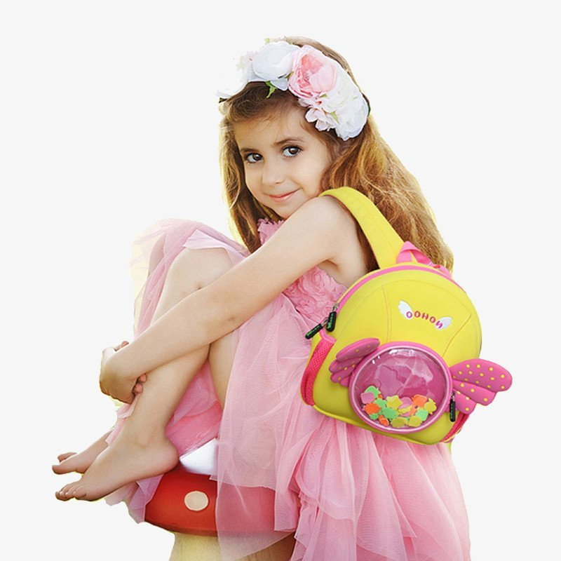 Nohoo Children Products-Nh030 Angel Style Premium Durable Waterproof Neoprene Backpacks-3