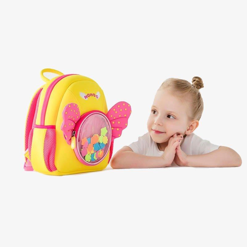 Nohoo Children Products-Nh030 Angel Style Premium Durable Waterproof Neoprene Backpacks-4