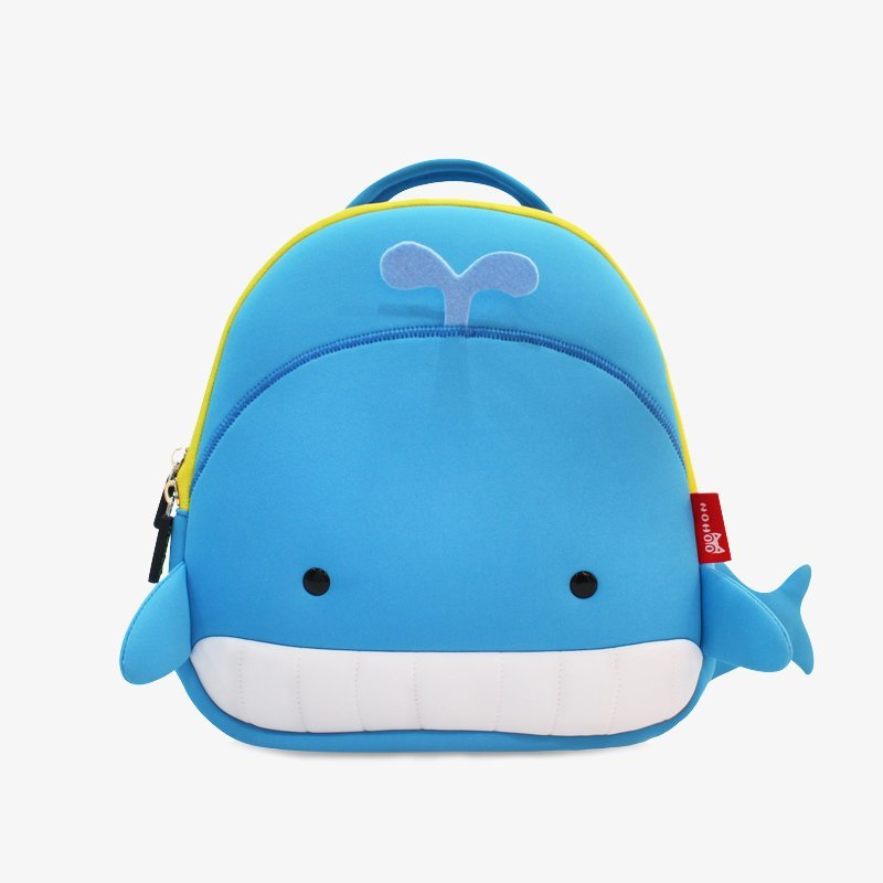 Nohoo Children Products-Best Nh025 Soft And Light Weight Cute Whale Design Kids Rucksack-3