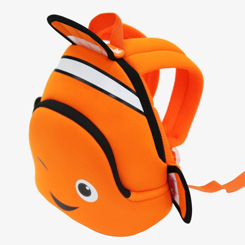 Nohoo Children Products-Gy293 Neoprene Backpack For Kids Kindergarten Daily Outdoor Bags Clown-3
