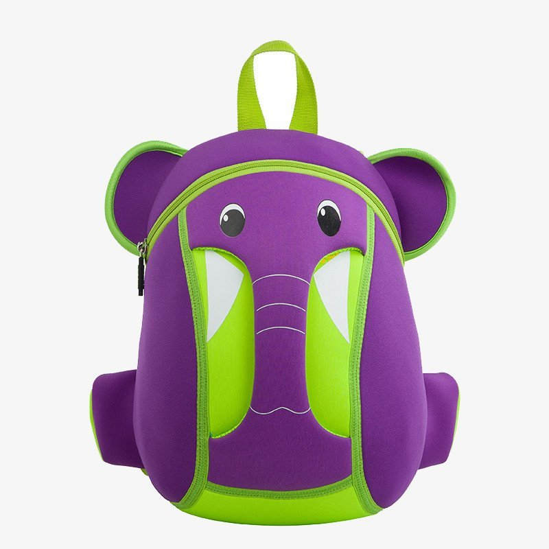Nohoo Children Products-Nh015 Top Quality Environmental Elephant Children School Bag-4