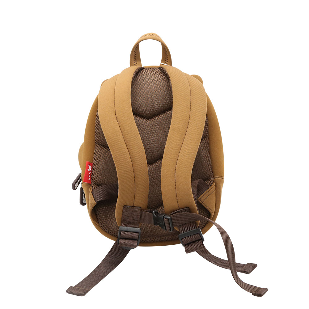 Nohoo Children Products-Best Kindergarten Backpack Waterproof Brown Bear Kids bag-3