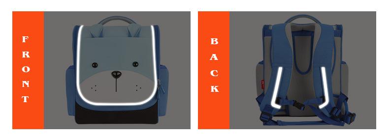 Nohoo Children Products-Nohoo Shoulder Backpack Help Solve The Spines Problem-9