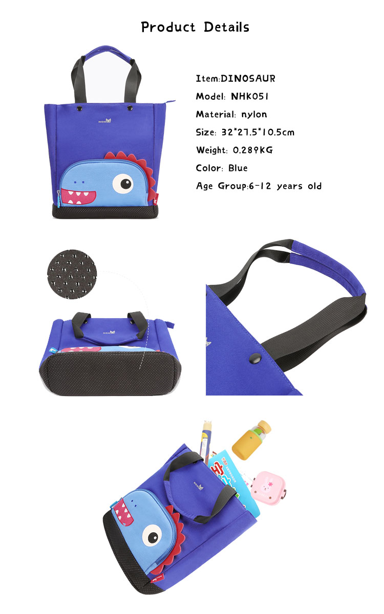 Nohoo Children Products-Childrens Handbag Shcool Tutor Bag