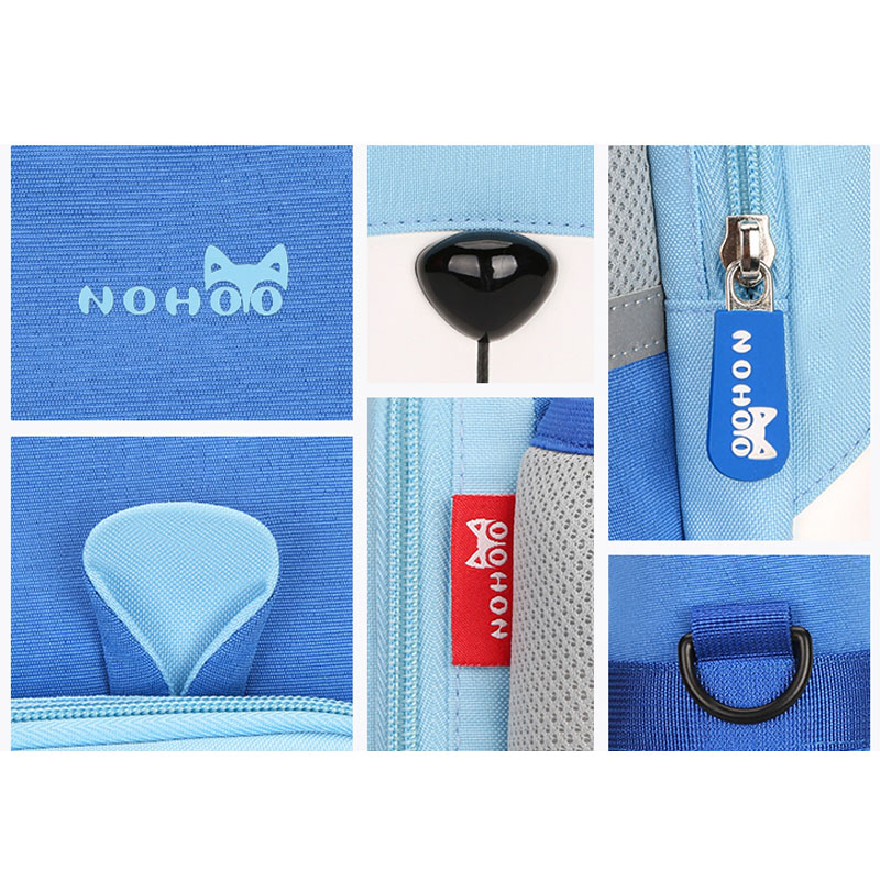 Nohoo Children Products-School Student Bag Children Mesaenger Bag Book Bag-1