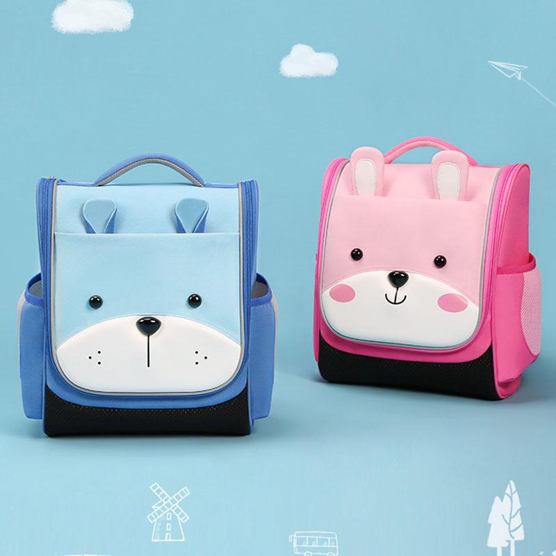 NHB250 Nohoo brand polyester Cute primary school children school backpack