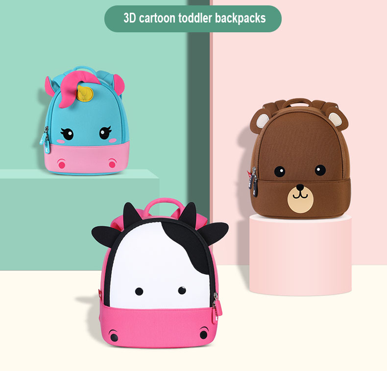 Nohoo Children Products-Cute Little Girl Backpacks-how Much Do You Know About Choosing Schoolbags