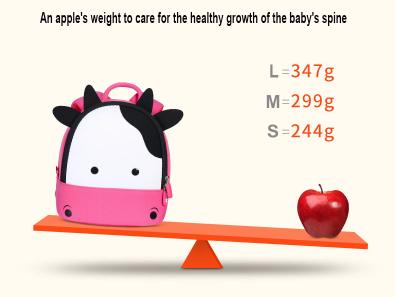 Nohoo Children Products-Cute Little Girl Backpacks-how Much Do You Know About Choosing Schoolbags-2