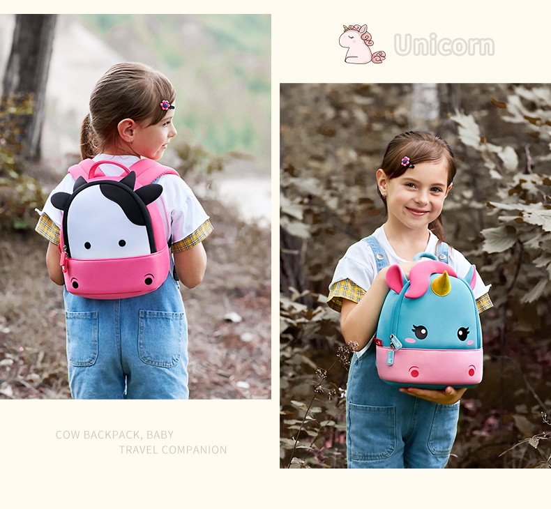 Nohoo Children Products-Cute Little Girl Backpacks-how Much Do You Know About Choosing Schoolbags-3