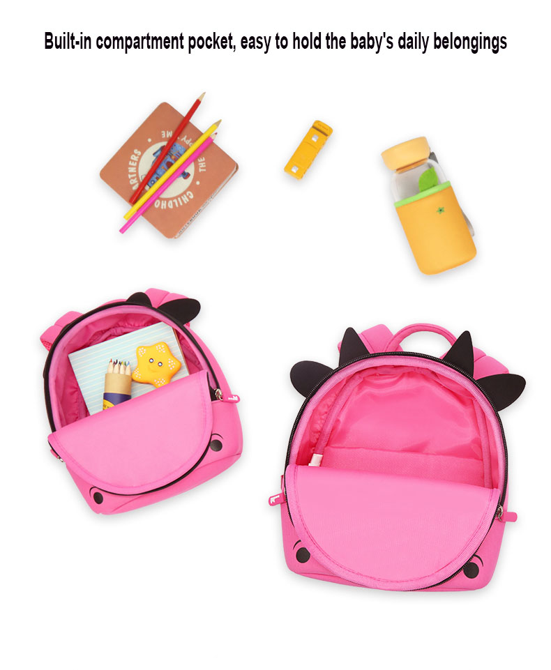 Nohoo Children Products-Cute Little Girl Backpacks-how Much Do You Know About Choosing Schoolbags-4