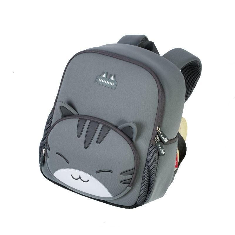 NHB041XL new design cat neoprene lightweight waterproof student school bag