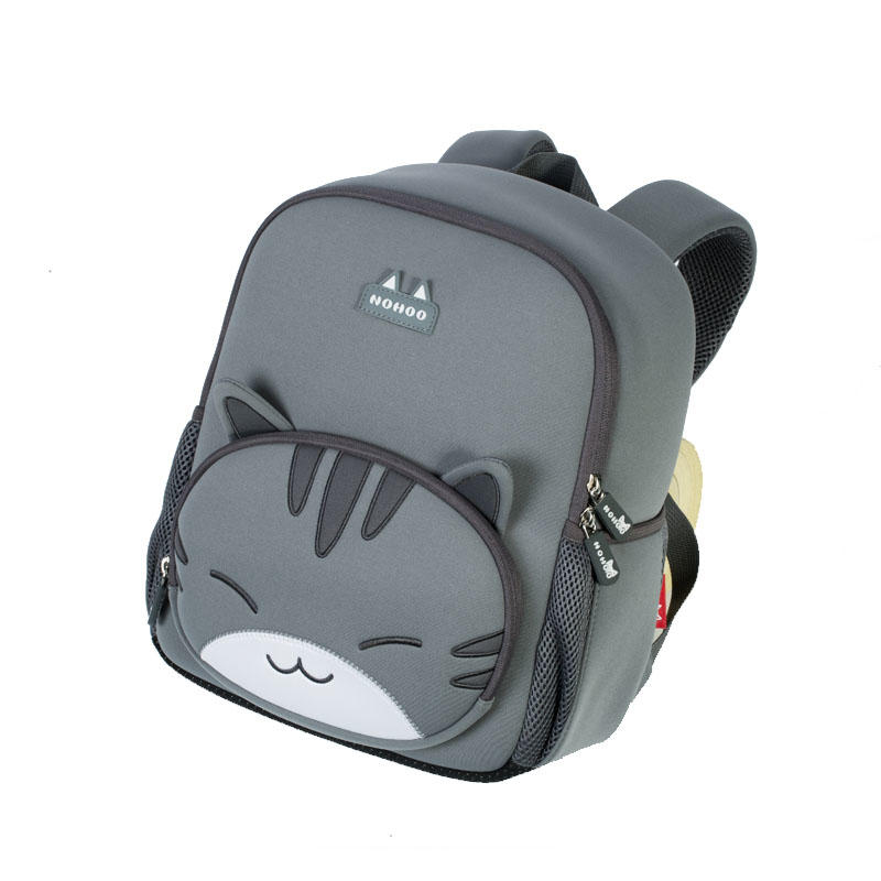 NHB041XL new design cat neoprene lightweight waterproof student school bag