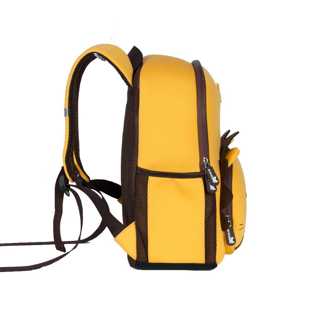 NHB053XL Nohoo brand new item cute neoprene 3D cartoon kids backpack lion