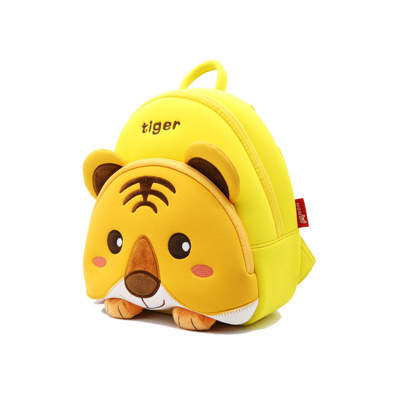 NHB149 Nohoo new product environmental neoprene unisex children animal backpack