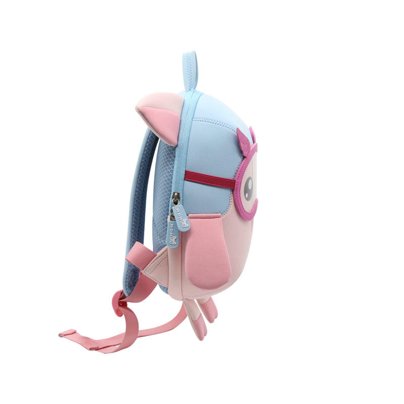 NHB208 new arrival 2019 lovely pig neoprene toddler backpack for kids