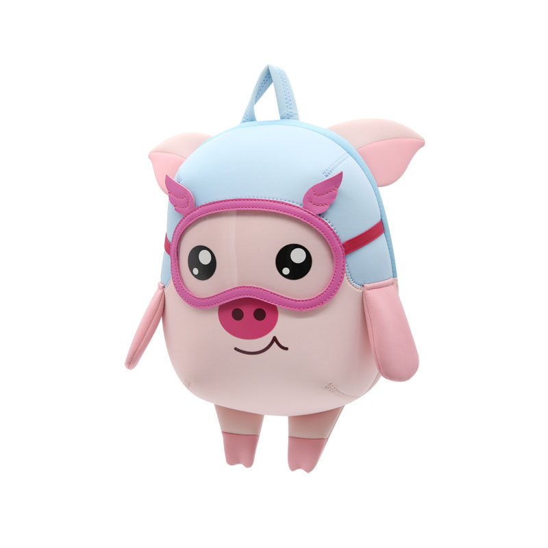 Nohoo Children Products-Find Custom Backpack Manufacturers Nhb208 New Arrival 2019 Lovely Pig-3