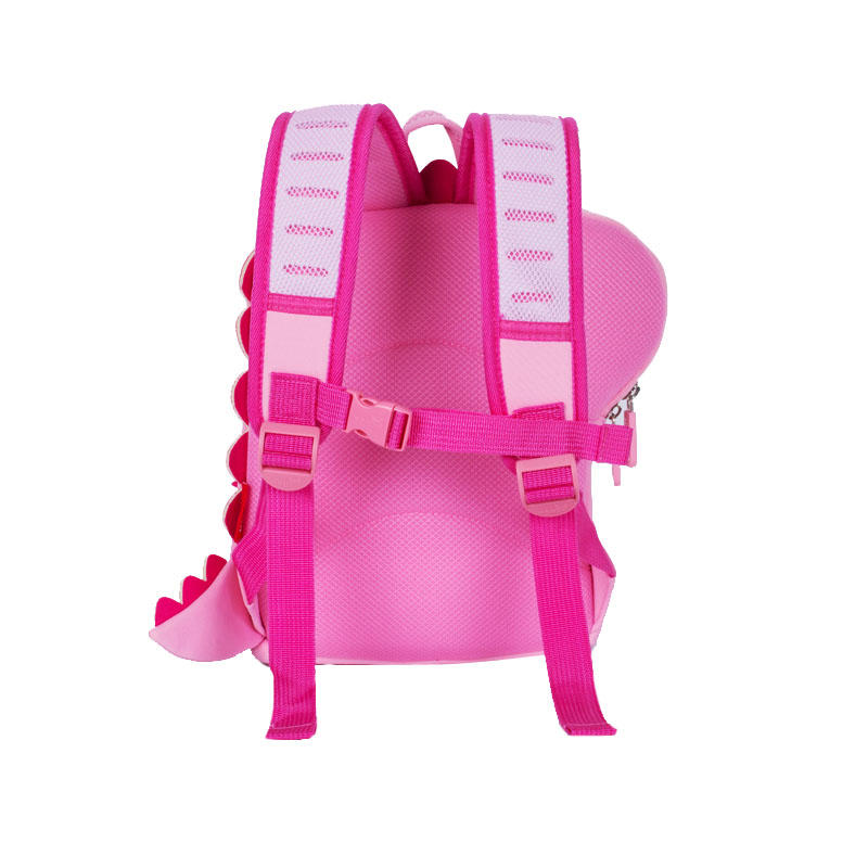 NHB213 Wholesale neoprene animal soft toddler backpack with 3D printing