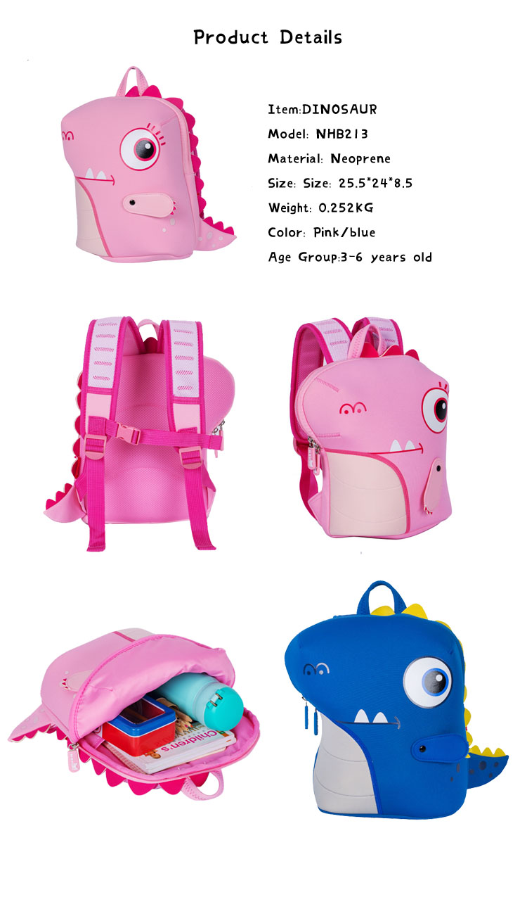 Nohoo Children Products-Manufacturer Of Custom Backpack Manufacturers Nhb213 Wholesale Neoprene