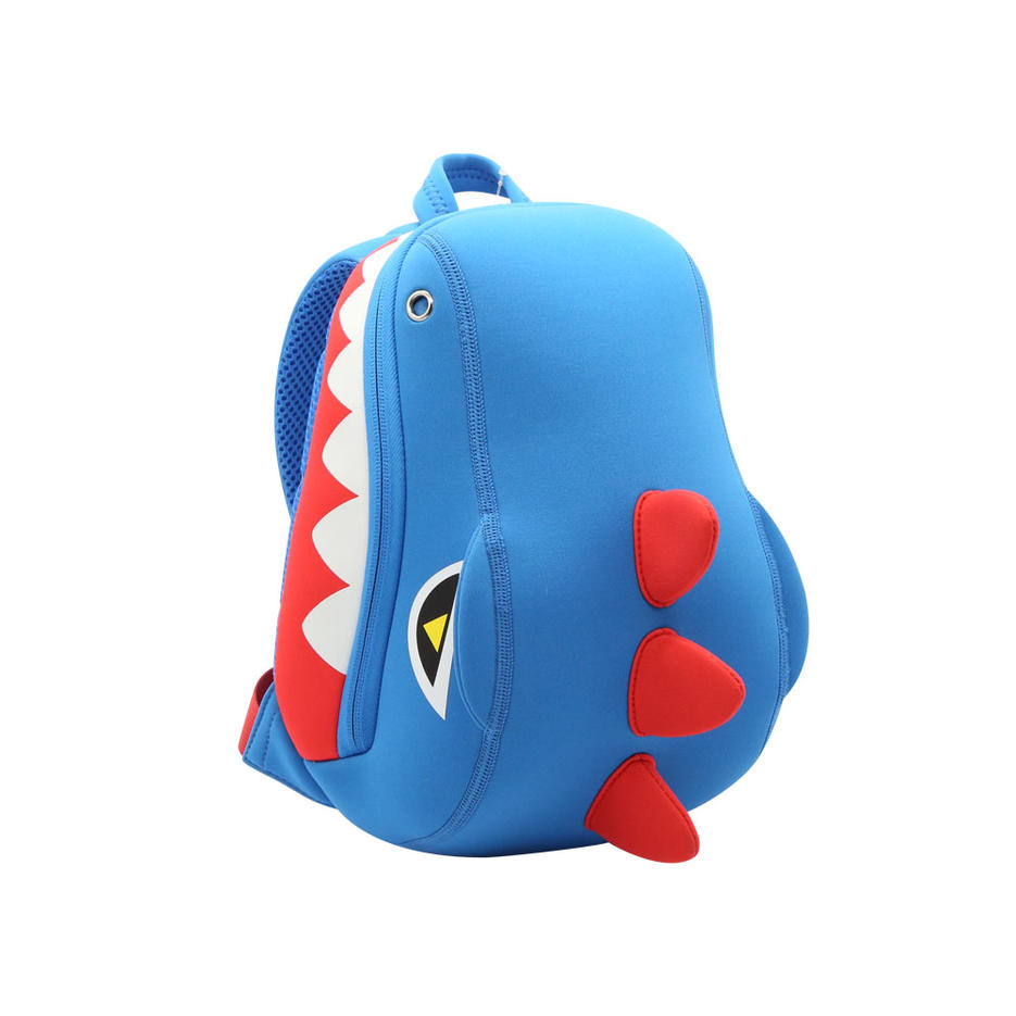 NHB218 Dinosaur animal neoprene kids backpack manufacturers children shoulder bag