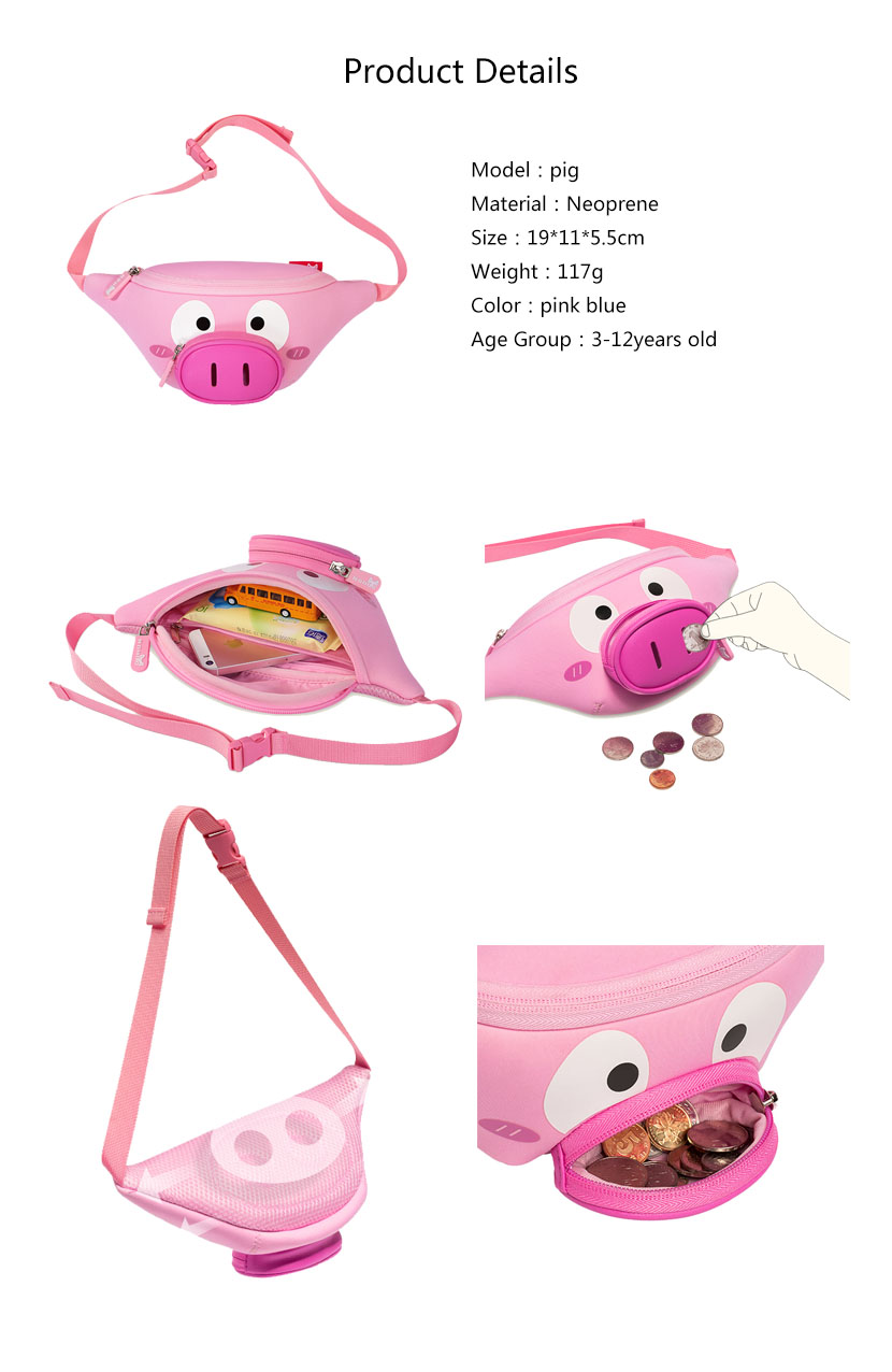 Nohoo Children Products-Neoprene Bag Nhy010 Nohoo Children Small Waist Bag 1-7 Years Old Fashion