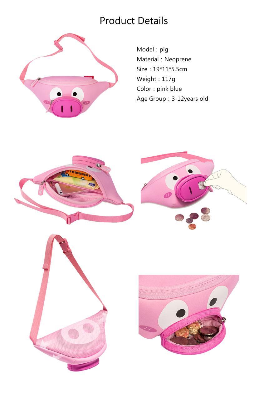 Nohoo Children Products-Neoprene Bag Nhy010 Nohoo Children Small Waist Bag 1-7 Years Old Fashion