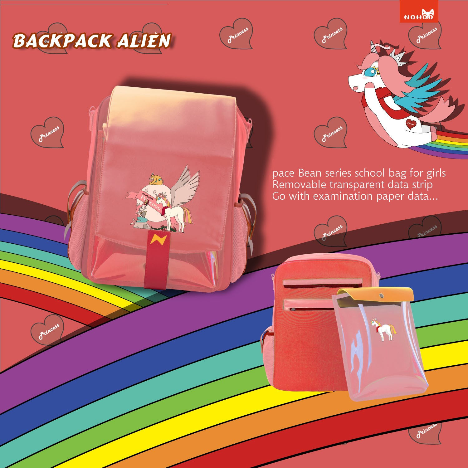 Nohoo Children Products-Personalized Preschool Backpacks-super Wearable Nohoo Dinosaur Series Outdoo-1