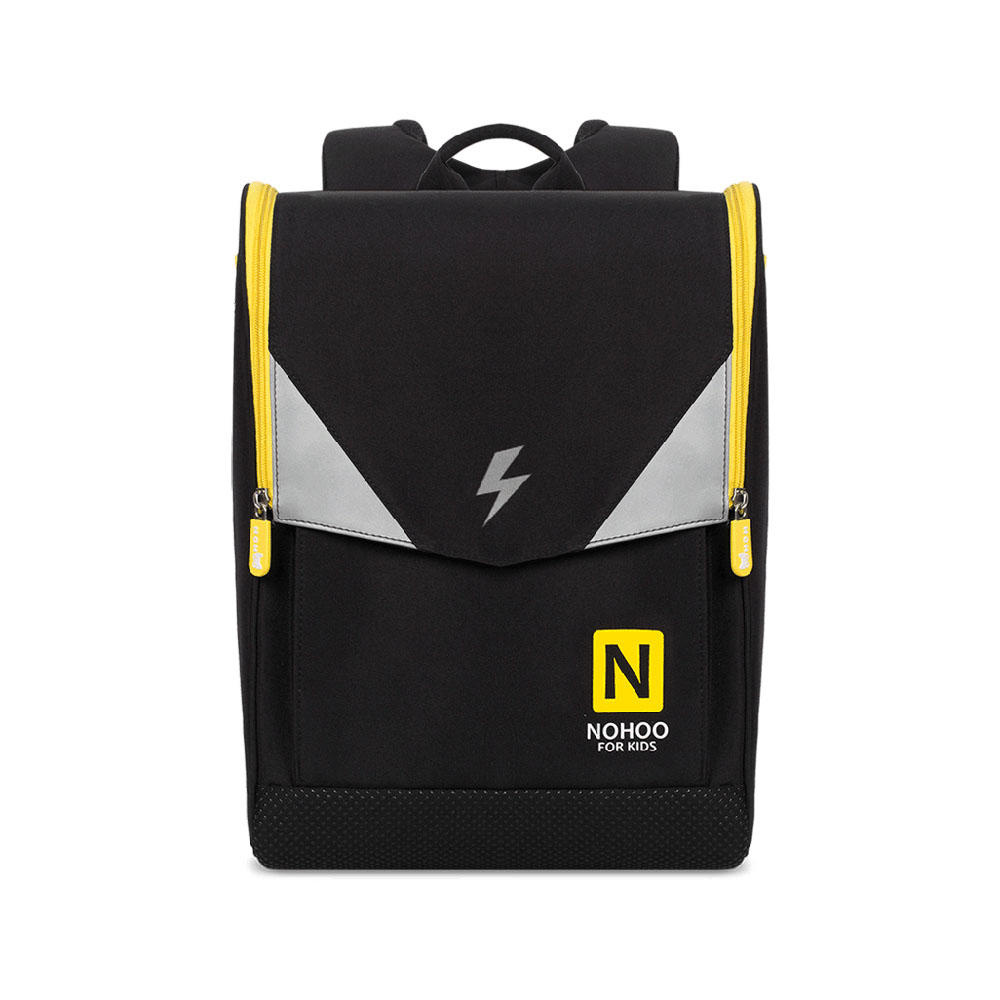 NHB210 new arrival primary school superman children backpack ridge reduction bag