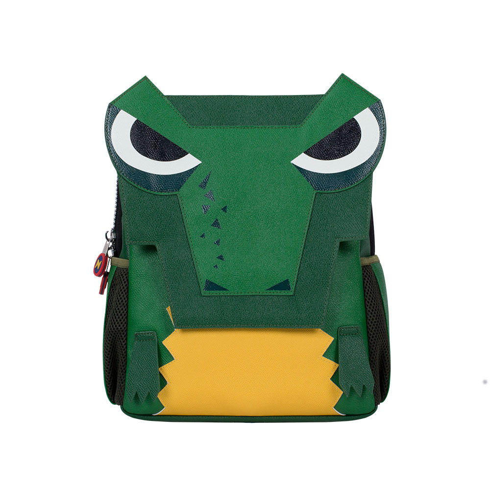 NHZ021-3 PU waterproof durable light children school backpack for students