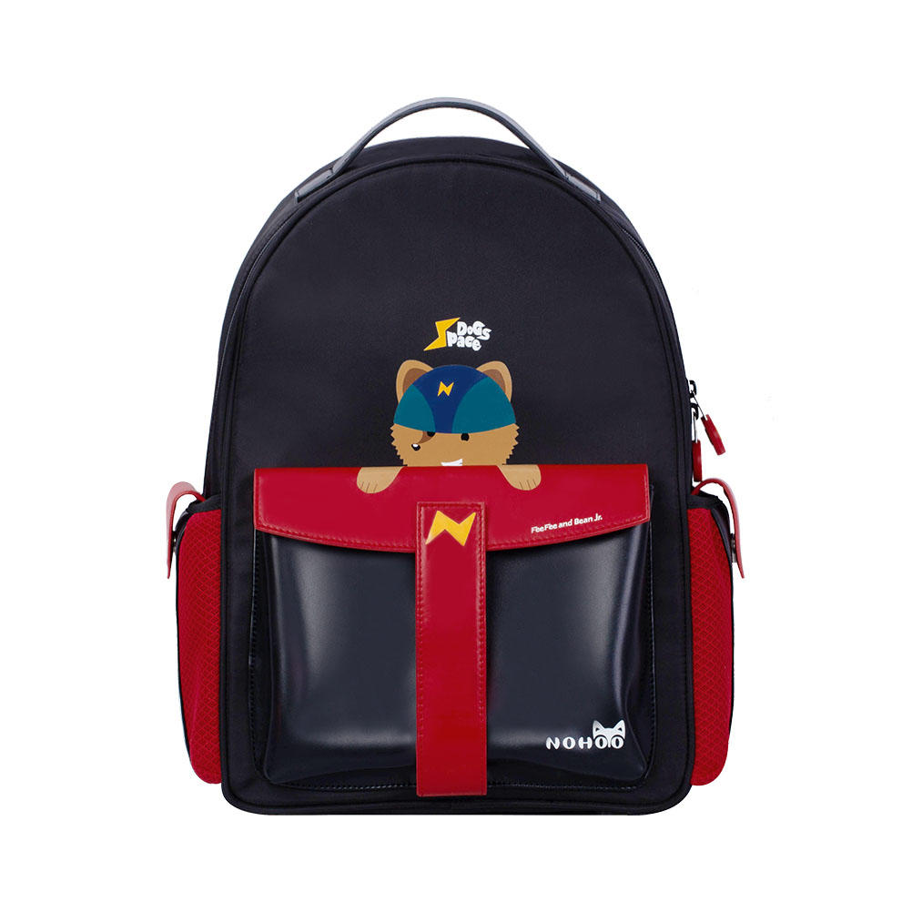 NHZ021-15 Nohoo 2019 new design rocket series PU and Polyester  children student school backpack