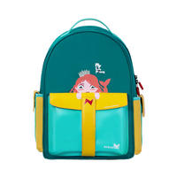 NHZ021-17 New arrival rocket series PU and Polyester primary school student school bag