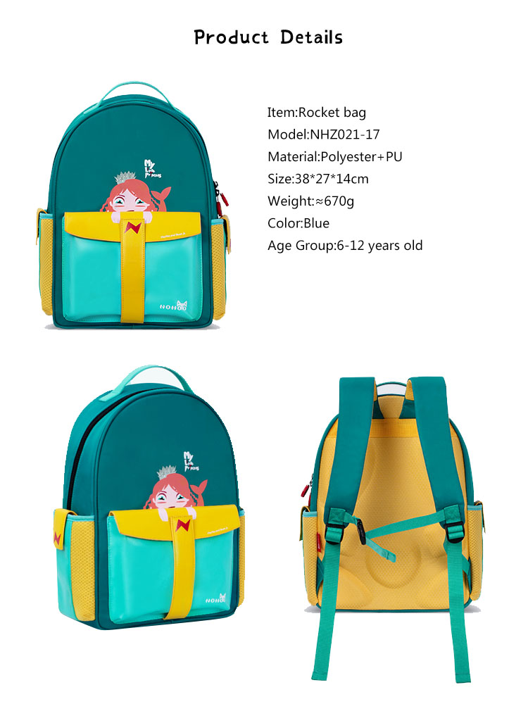 Nohoo Children Products-Custom Kids School Bags With Wheels Manufacturer, Purple Kids Backpack
