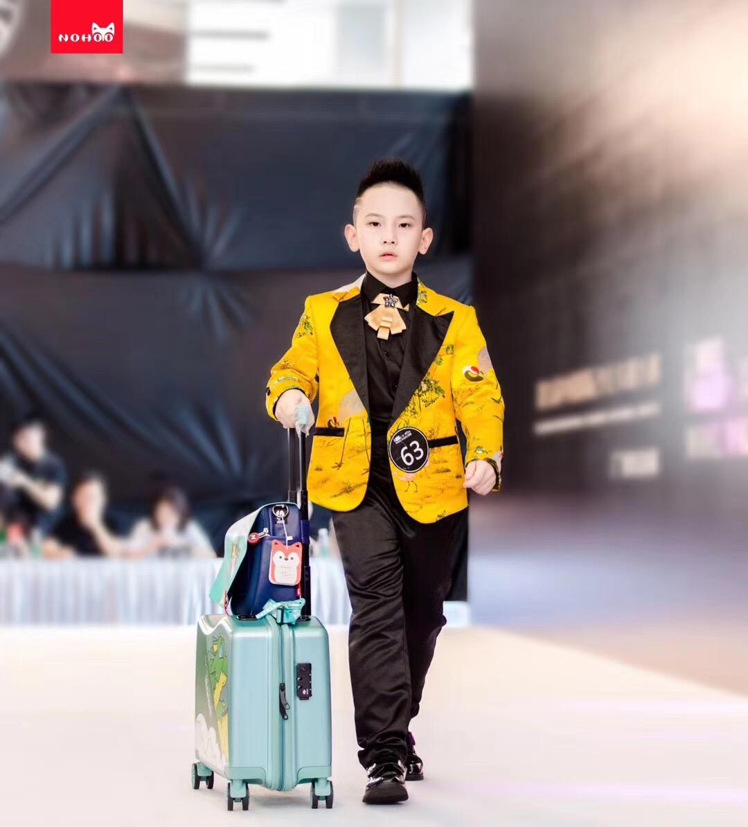 Nohoo Children Products-Nohoo Children School Bag Sponsors The China International Childrens Car-4