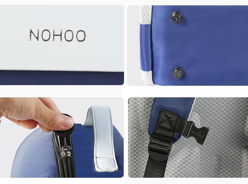 product-NOHOO-NHB320 high quality PU polyester Cartoon School Bag Cute Animal Kids Shoulder student