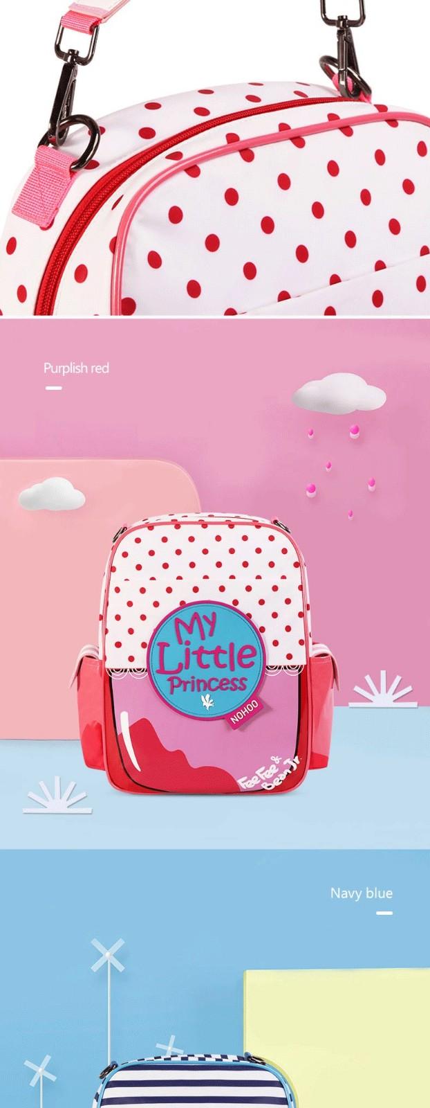 product-NOHOO-Nohoo 2019 new arrival waterproof lightweight PU 3D cartoon children school bag for gi-1