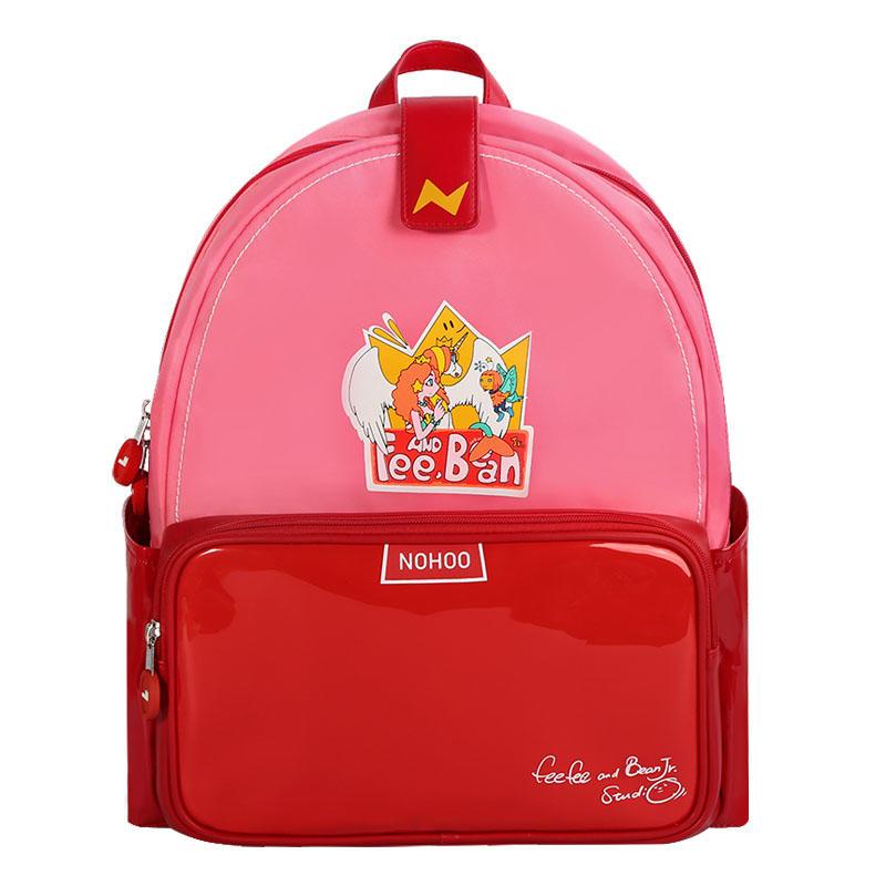 NHZ021-46-47-48 Nohoo new series PU polyester waterproof backpack 3D shape cartoon style school bags.