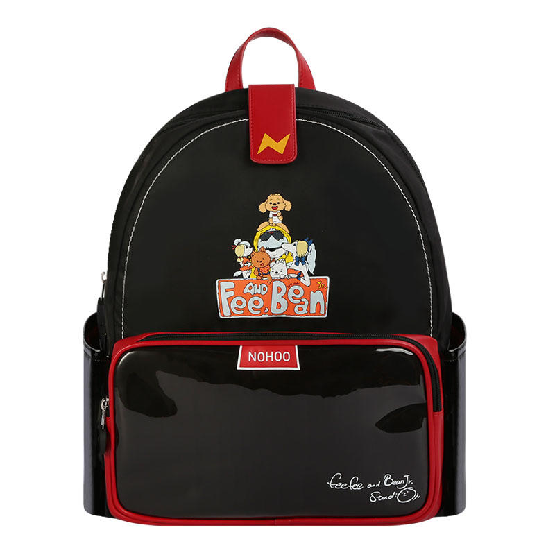 NHZ021-46-47-48 Nohoo new series PU polyester waterproof backpack 3D shape cartoon style school bags.
