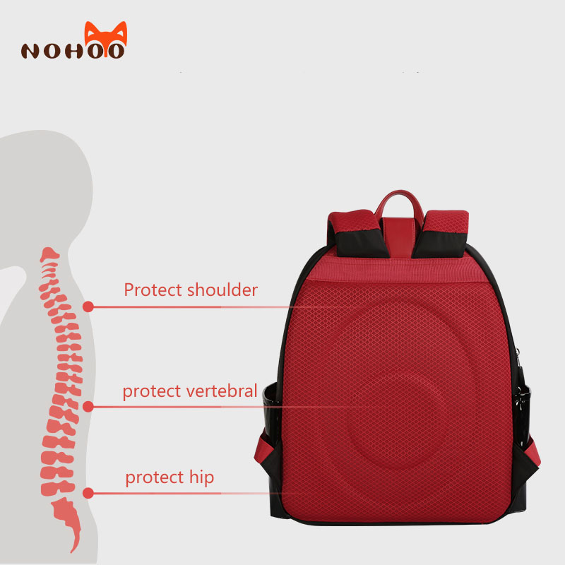 product-NOHOO-NHZ021-46-47-48 Nohoo new series PU polyester waterproof backpack 3D shape cartoon sty-1