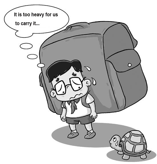 news-NOHOO-Should the children school bag be carried by himself or by the parents-img-1