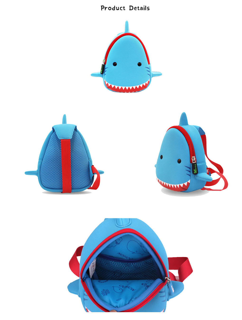 Nohoo Children Products-Manufacturer Of Ultralight Durable Outdoor Animal Bag Mini Chest Bag For