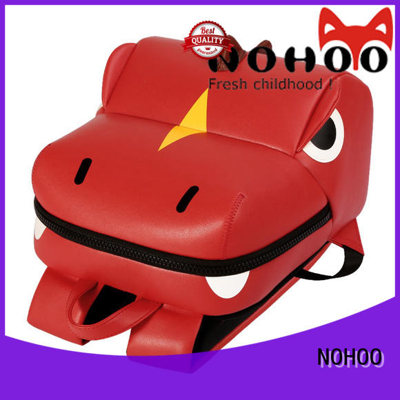 NOHOO cat Polyester children school bag wholesale for kindergarten