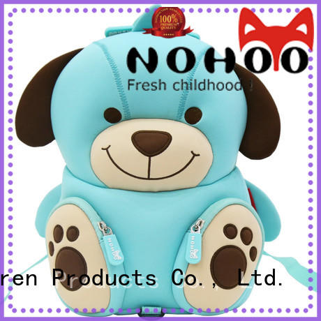 NOHOO cute kids trolley bag customized for children