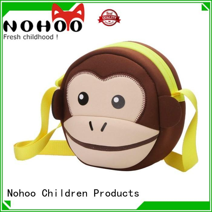Nohoo Children Products Brand lovely lightweight animal small messenger bag quality
